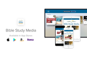 Announcing the Bible Study Media App!