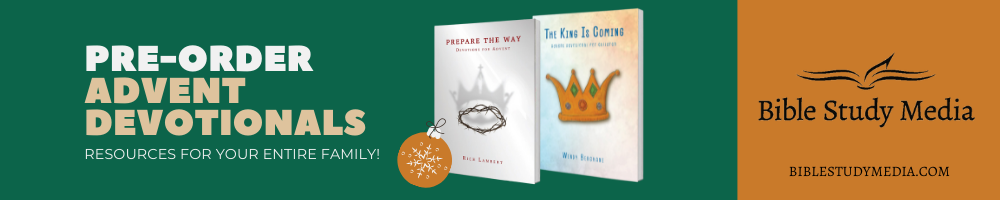 Pre-order new Advent devotionals for the whole family