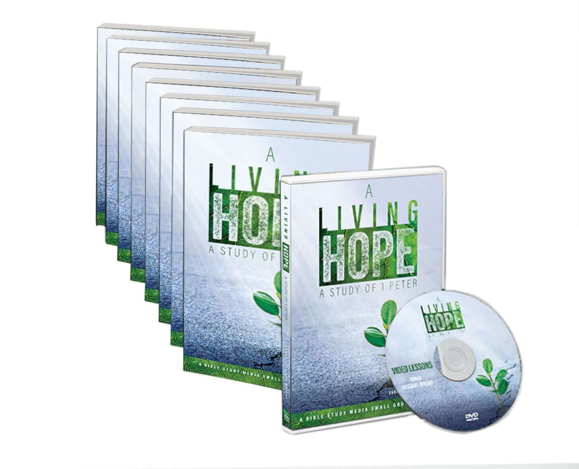 A Living Hope: Small Group Books and DVD