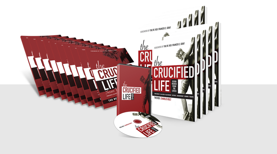 The Crucified Life: Small Group  Books and DVD