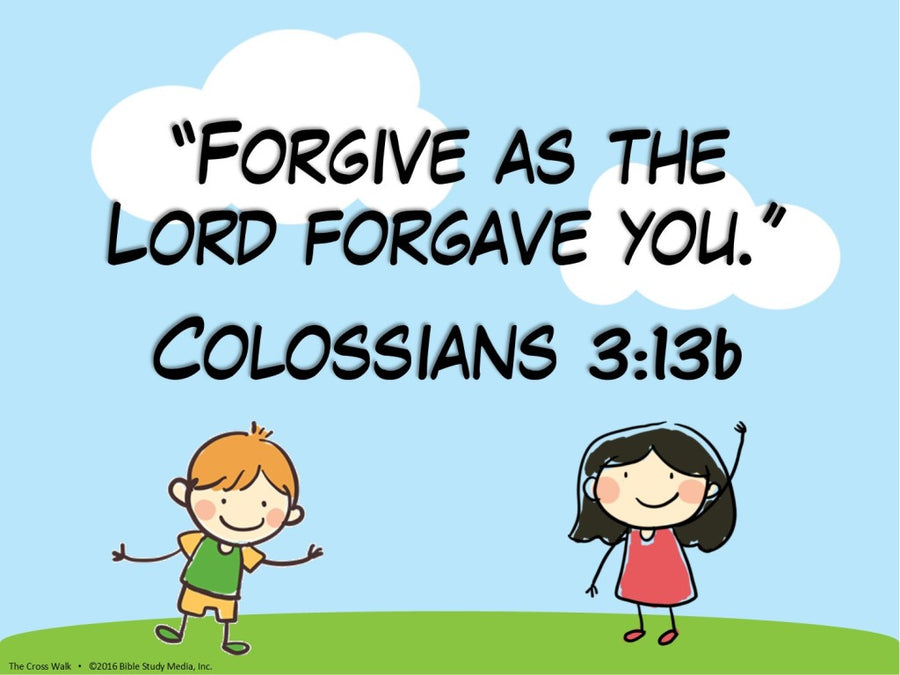 Kids Bible Lesson Download: Forgiveness