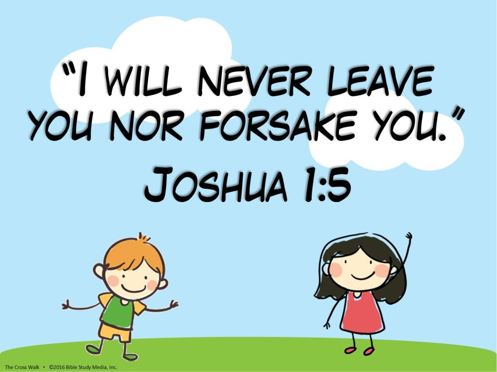 Kids Bible Lesson Download: Abandonment