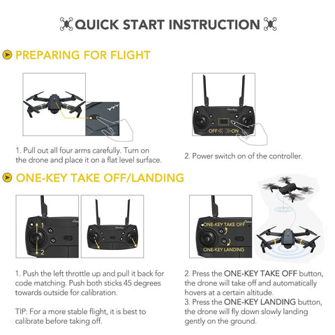 Quick Start Instruction Skye Drone