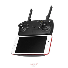 Skye Drone Remote Control with phone side view