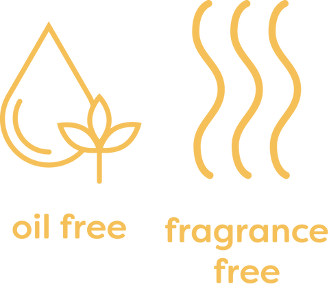 Oil Free, Fragrance Free