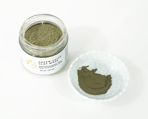 Green Juice Clay Mask