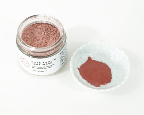 Rose Kaolin Clay Mask