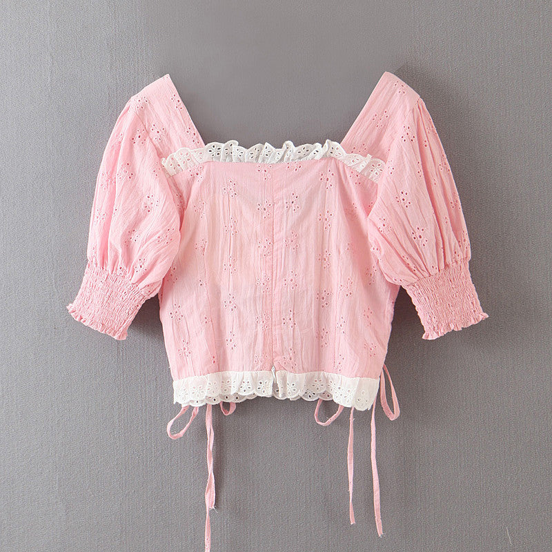 Soft & Sweet Ice Cream // Top (4594720145459)