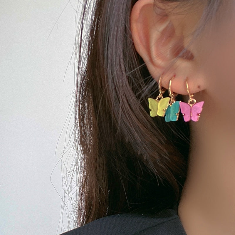 You Give Me Butterflies // Earrings (4632152113203)