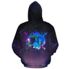 Skiing Goggles Galaxy All Over Hoodie