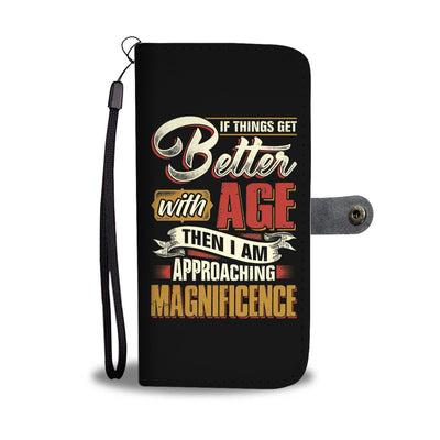 Approaching Magnificence Wallet Case