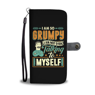 I Am Not Even Talking To Myself Wallet Case