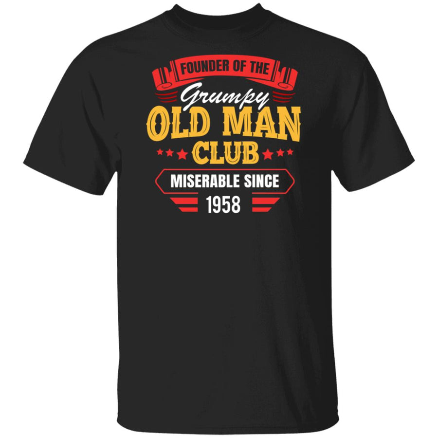 Personalized - Founder Grumpy Old Man Club T-shirt
