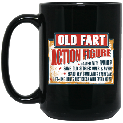 Old Fart Action Figure Mug