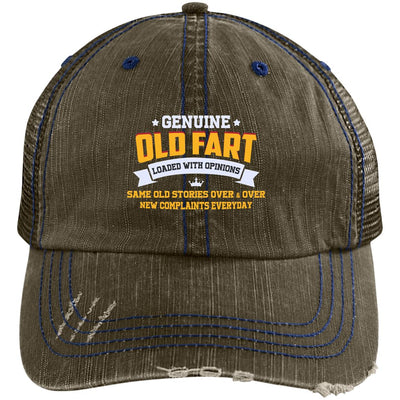 Genuine Old Fart Trucker Cap