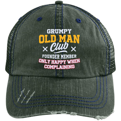 Grumpy Old Man Club Trucker Cap