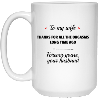 Old Couple - To My Wife Mug