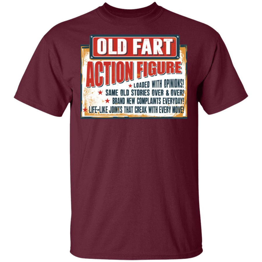 Old Fart Action Figure T-shirt