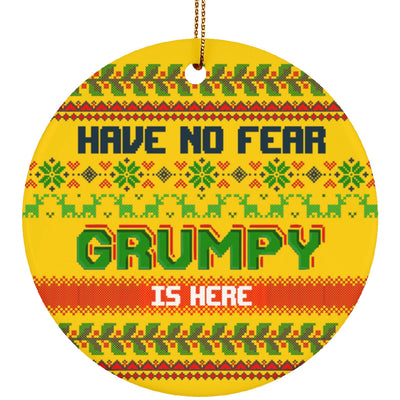 Grumpy Old Christmas Ornament 3