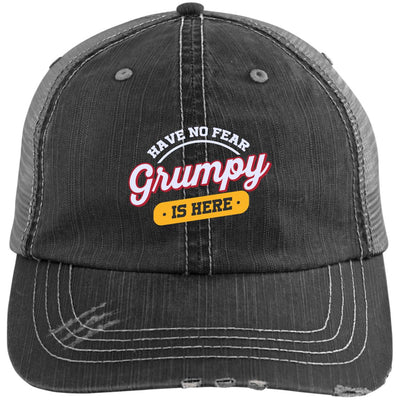 Grumpy Is Here Trucker Cap