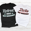 New Management - Couple Shirts