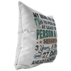 Ahead Of Schedule Pillow & Pillow Insert