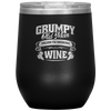 Grumpy Old Man Unless Drinking Wine Tumbler