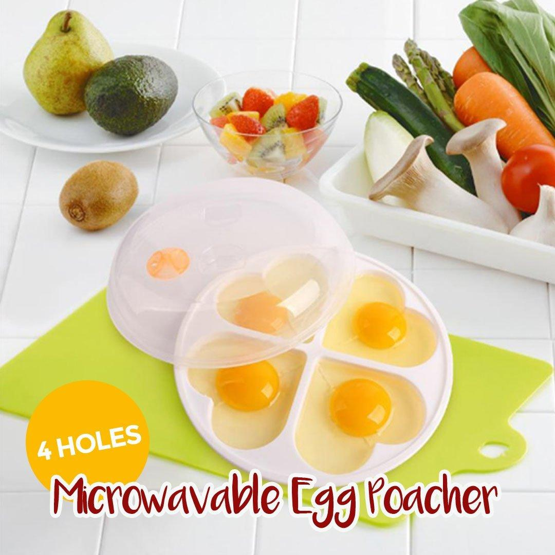 Heart-Shaped Microwavable Egg Poacher