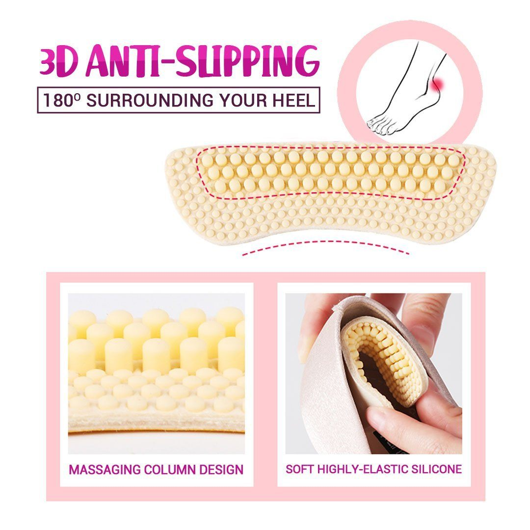 Silicone High Heel Liners - 3pairs