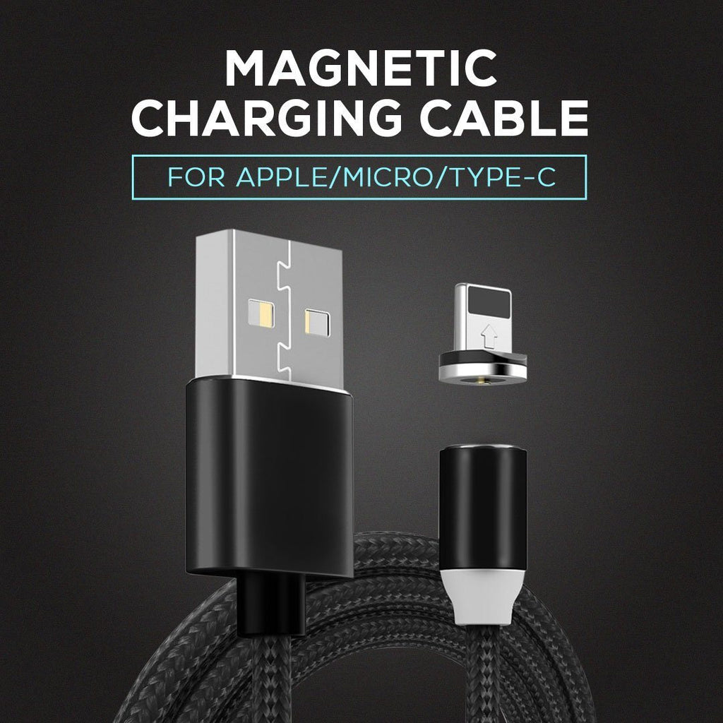 360 Degree Free Spin Magnetic Charging Cable