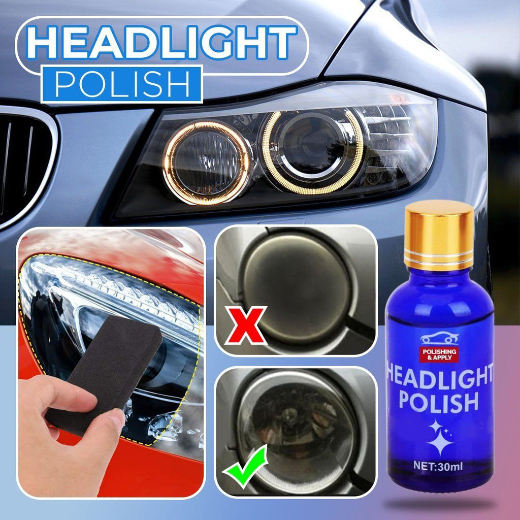 Car Headlight Polishing Agent