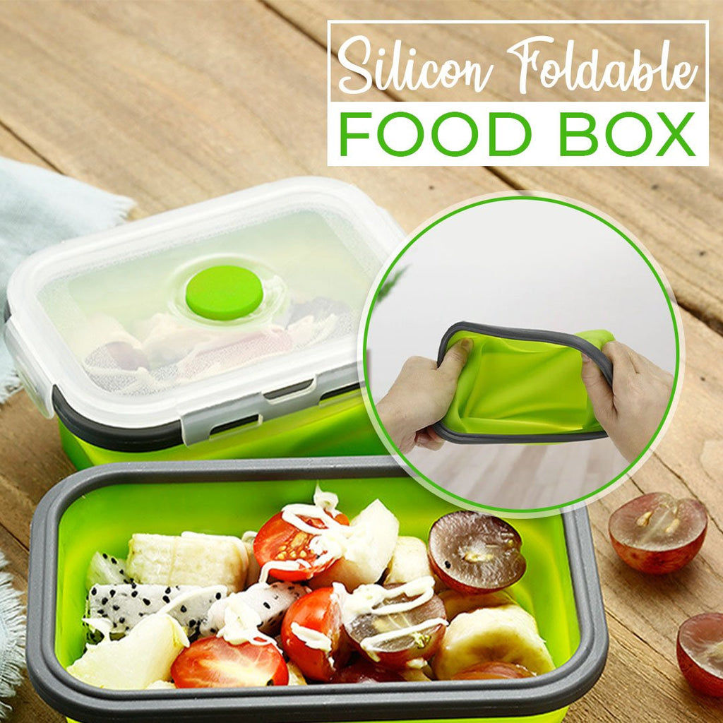 Silicone Foldable Food Box