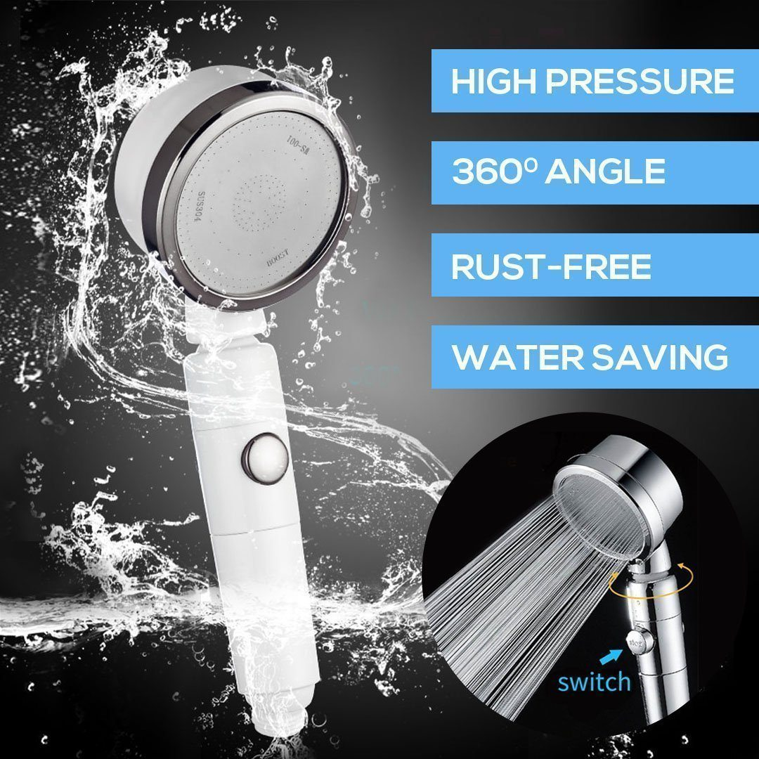 360° Rotatable Shower Head