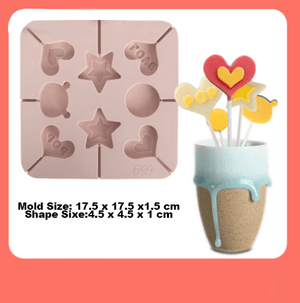 Cartoon Lollipop Mold