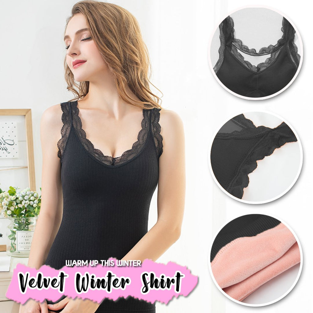 Winter Warm Lace Inner Tops