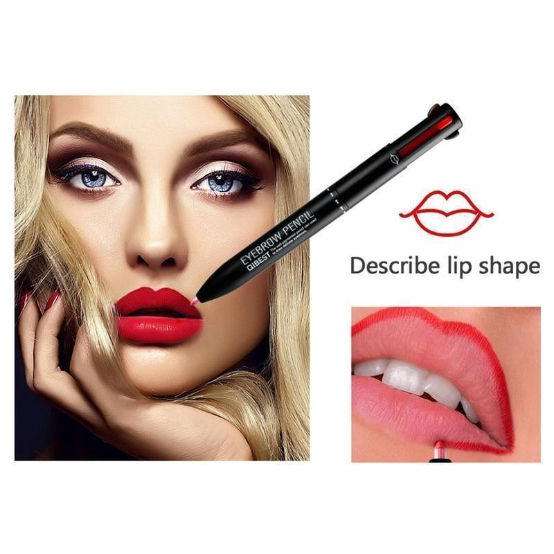 4-in-1 Lip and Eyeliner Transforming Makeup Pen