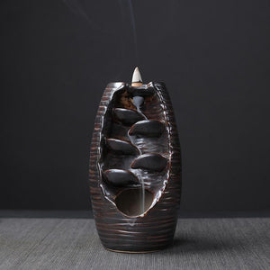 Liquid Smoke Back-flow Incense Burner