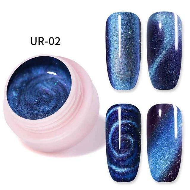 Magnetic 3D Cat Eye Nail Polish Set