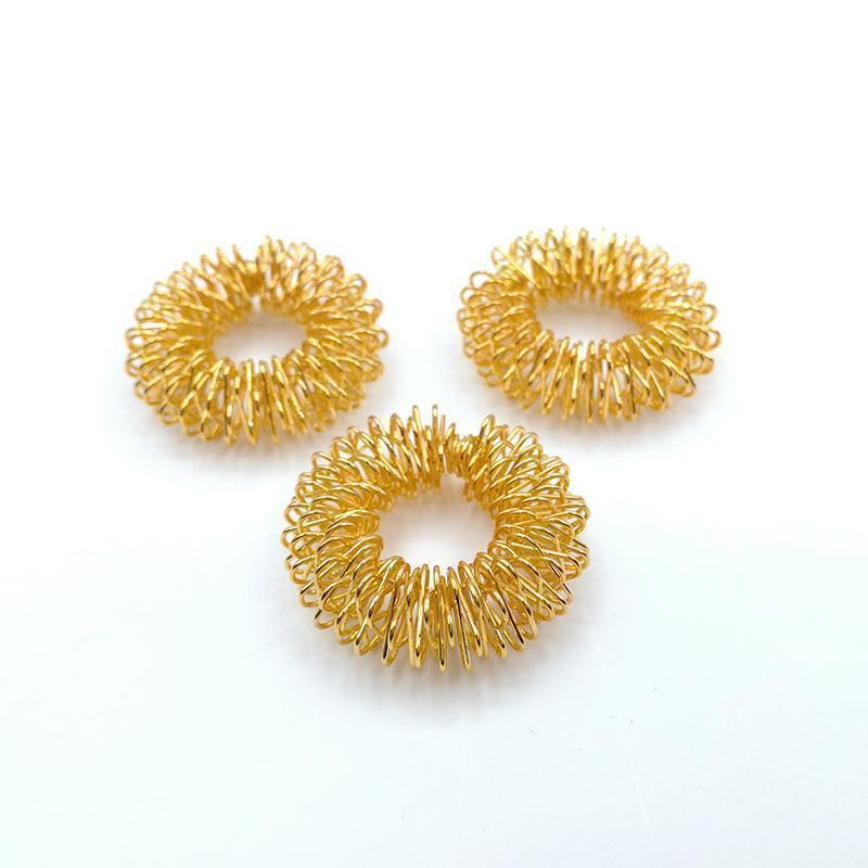 Acupuncture Massage Rings - 10pcs