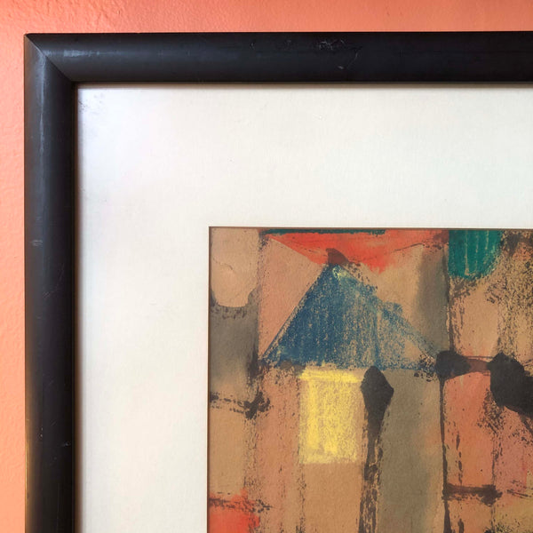 "Mid-century Still Life Framed Art - 24.5"" x 25.5"""
