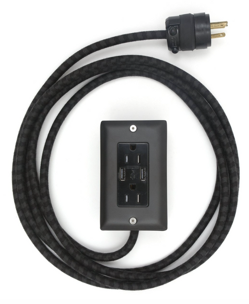 6 Ft. Smart USB Extension Cord by Conway Electric