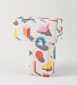 "Wrap Magazine ""Building Blocks"" Wrapping Paper - 1 Sheet"
