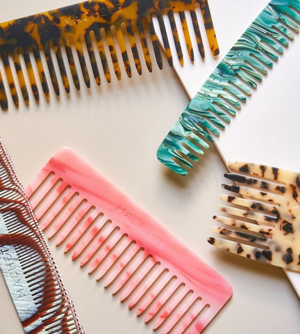 Hair Combs by Machete Jewelry