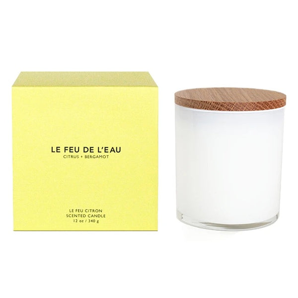 Le Feu de L'eau Candle - Color Block Collection