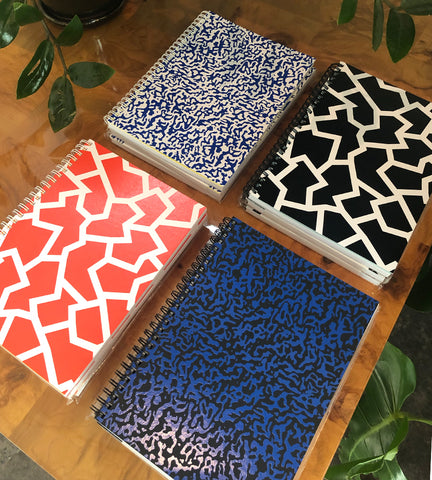 Wrap Magazine Spiral Notebooks - 4 Styles Available