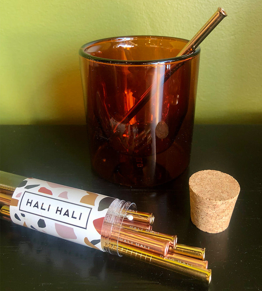 Hali Hali Reusable Straw Set