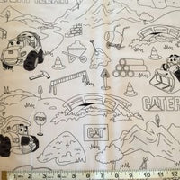 Color Me Pillowcase - Caterpillar Construction Equipment