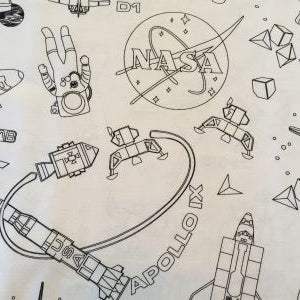 Color Me Pillowcase - NASA
