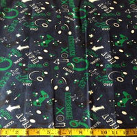 Flannel Video Game Fabric