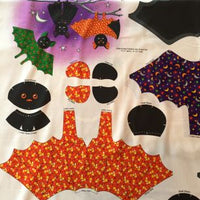 Going Batty Stuffed Toy Fabric